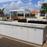 outdoor granite countertop